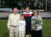 Wando Soccer Senior Night 2015